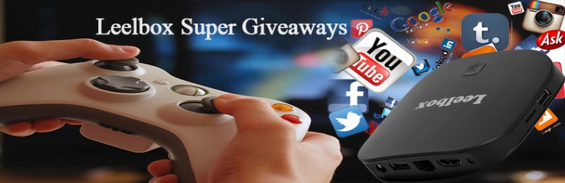 Giveaways android tv box
