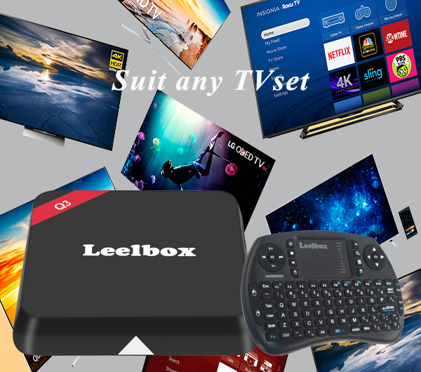 best Android tv box Leelbox Q3