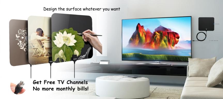 Best Indoor TV Antenna and set upinstruction