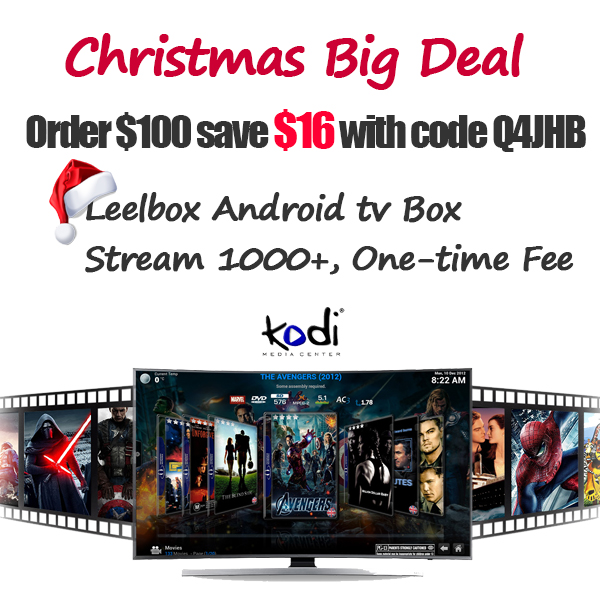 Popular 2018 New Android tv box loaded with Kodi