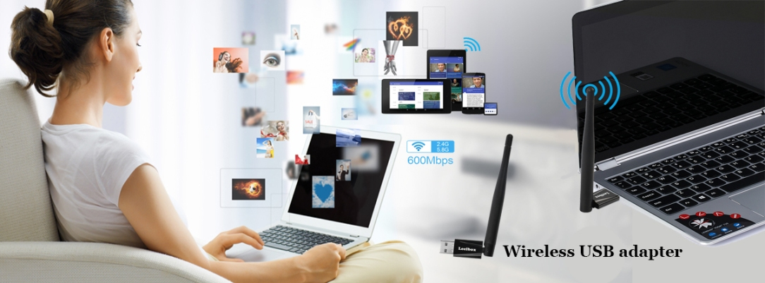 Wireless USB wifi adapter-Connecting wifi stable