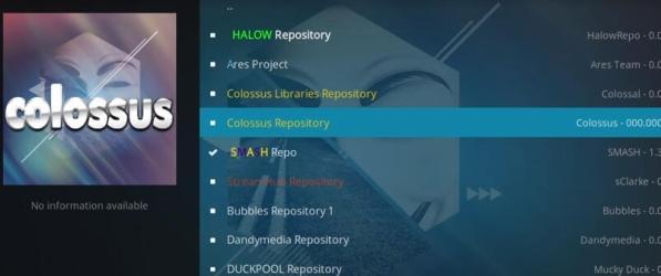 Colossus Repository