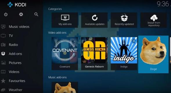 The Best Kodi 17.6 Addons