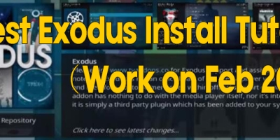 Latest Exodus Install Tutorial(Work on Feb 2018)