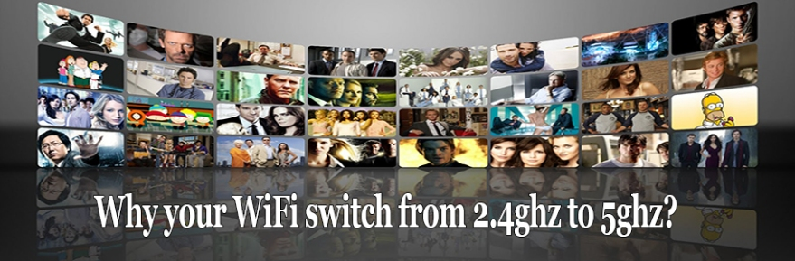 Why your WiFi switch from 2.4ghz to 5ghz?