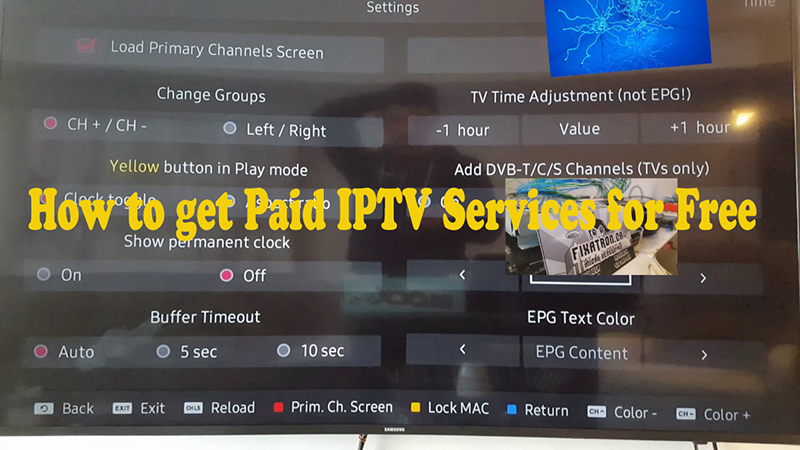 How to get Paid IPTV Services for Free 2019